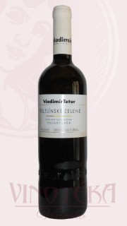Veltlínské zelené, pozdní sběr, 2011, Vinařství Tetur