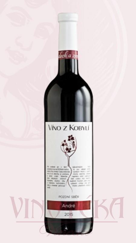 André, Víno z Kobylí
