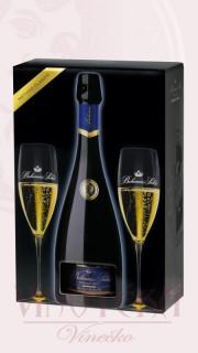 Prestige, brut, Bohemia Sekt - dárkové balení (2ks skleniček)