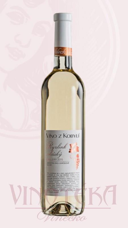 Ryzlink vlašský Víno z Kobylí