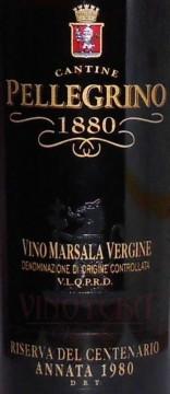 Marsala Vergine Riserva del Centenario annata 1980 D.O.C., Cantine Pellegrino