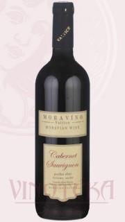 Cabernet Sauvignon, pozdní sběr, 2016, Vinařství Moravíno Valtice