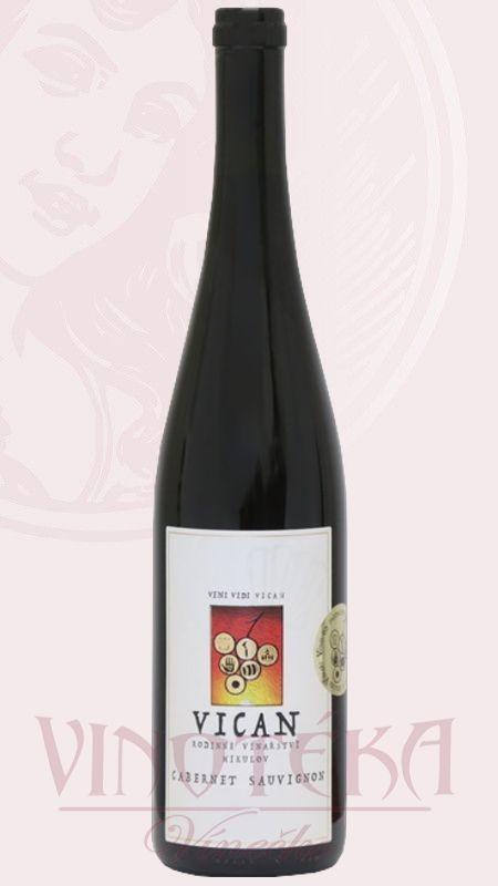 Cabernet Sauvignon, Vinařství Vican