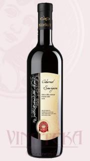 Cabernet Sauvignon, pozdní sběr, 2017, Vinařství Košut