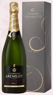 Champagne Brut Sélection, dárkové balení, Gremillet