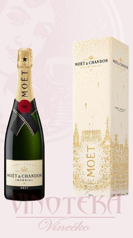 Champagne, brut, festive box, Moet&Chandon