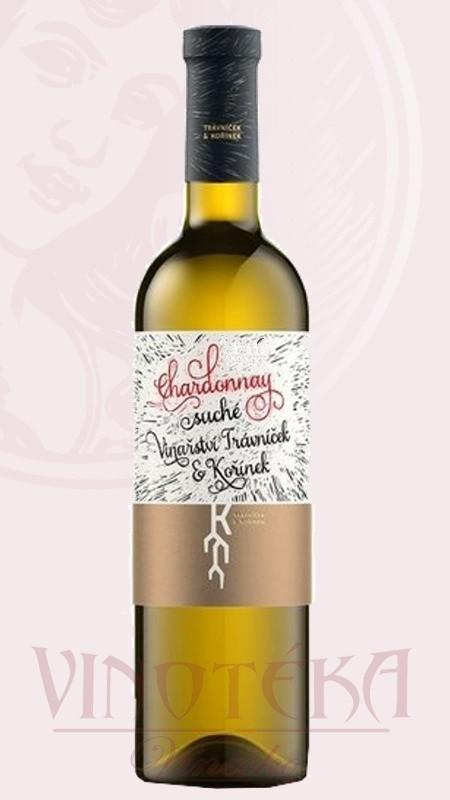 Chardonnay, pozdní sběr, Vinařství Trávníček a Kořínek