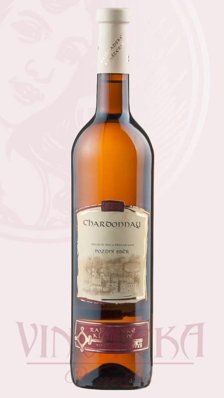 Chardonnay, pozdní sběr, Rajhradské klášterní vinařství
