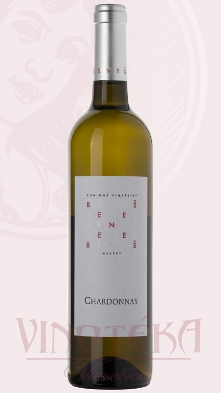 Chardonnay, pozdní sběr, 2017, Vinařství Beneš