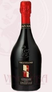 Conegliano Valdobbiadene DOCG, Proseco  Frizzante, Extra dry, Le Manzane