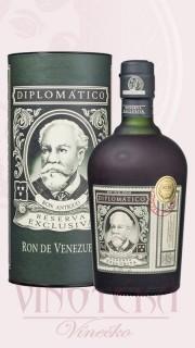 Diplomatico Reserva 12 let, 0,7 l, v tubě