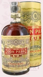 Don Papa rum 0,7 l, v tubě