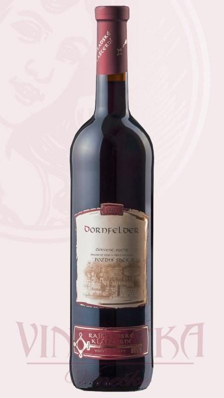 Dornfelder, Rajhradské klášterní vinařství