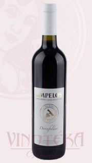 Dornfelder, pozdní sběr, 2016, Vinařství Ampelos