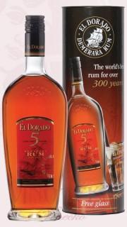 El Dorado Rum, 5 let