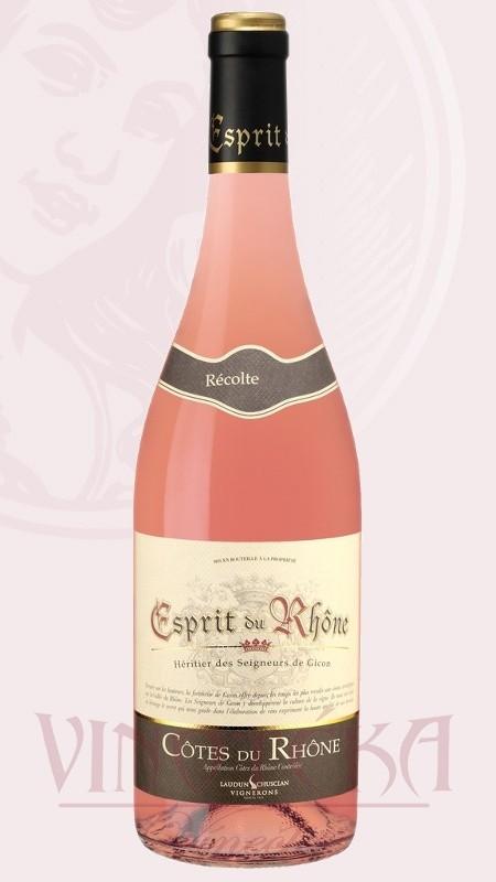 Esprit Laudun Chusclan rosé