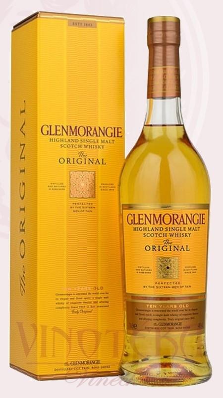 Glenmorangie 10 YO, 40%, 0,7l, Glenmorangie