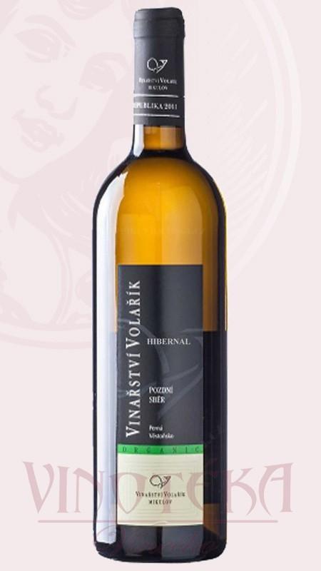 Hibernal organic, pozdní sběr, Vinařství Volařík