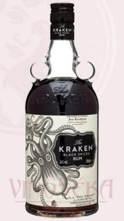 Kraken black spiced rum, 0,7 l