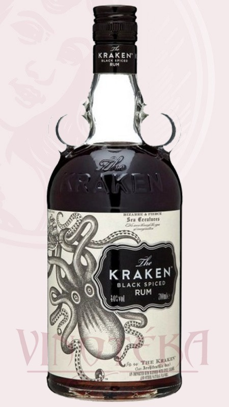 Kraken rum, 0,7l