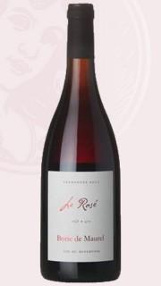Le Rosé 2016, bio, Borie de Maurel