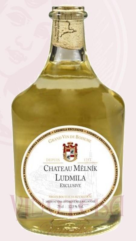Ludmila bílá exclusive, jakostní, Chateau Mělník