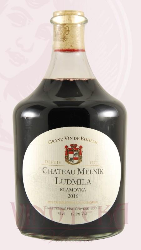 Ludmila červená, jakostní, Chateau Mělník