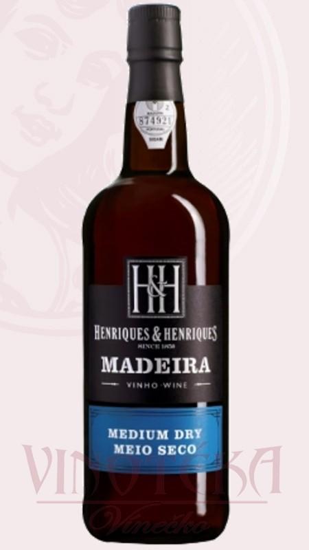 Madeira 3YO, medium dry, Henriques