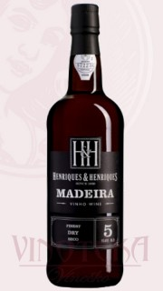 Madeira 5YO, finest dry, Henriques