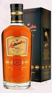 Matusalem rum, gran reserva, 23 let, 0,7 l