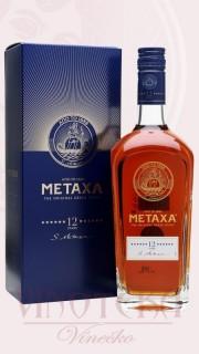 Metaxa 12* v dárkové krabičce, S.EA METAXA A.B.E