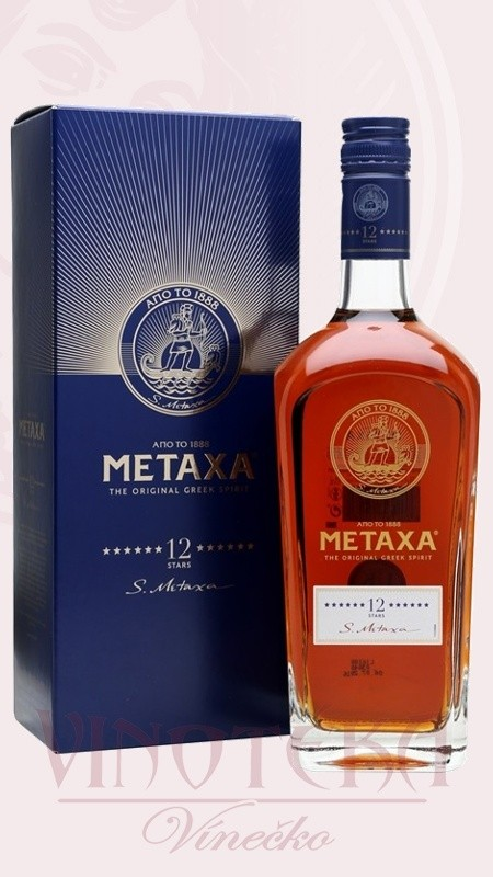 Metaxa 12* v dárkové krabičce