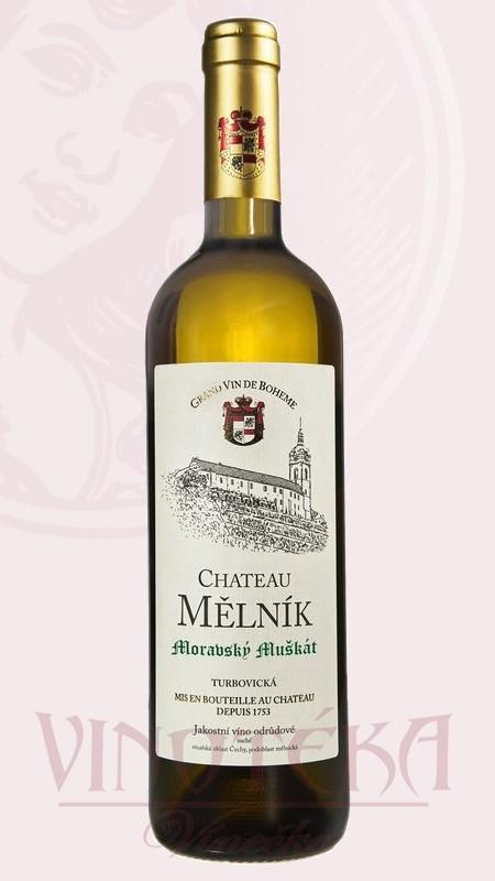 Muškát moravský, pozdní sběr, Chateau Mělník
