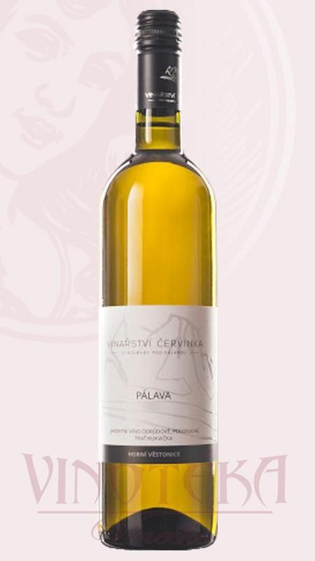 Pálava, jakostní víno, Vinařství Červinka