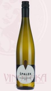 """Pinot Blanc """"sur-lie"""", pozdní sběr, 2016, Vinařství Špalek"""