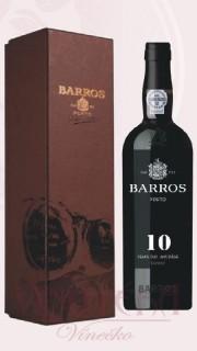 Porto - tawny, Barros 10let, dřevo