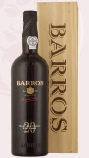 Porto - tawny, Barros 20let, dřevo