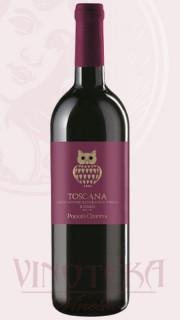 Puglia Rosso, IGT, 2014, Poggio Civetta