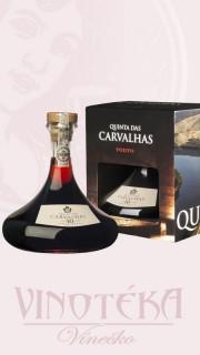 Quinta das Carvalhas 10YO v karafě a dárkové krabičce, tawny porto, Real Companhia Velha
