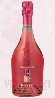 Róseo, spumante, rosé, brut