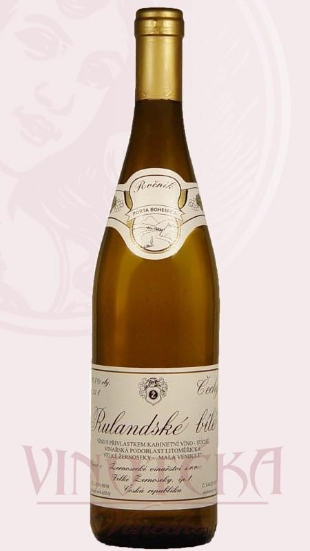 Rulandské bílé, pozdní sběr, Žernosecké vinařství