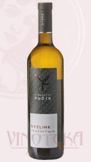 """Ryzlink vlašský, 2016, """"sur-lie"""", pozdní sběr, Vinařství Fučík"""