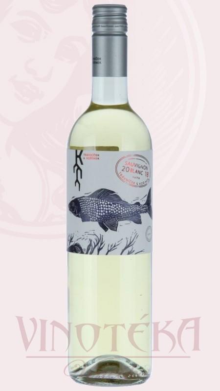 Sauvignon blanc, pozdní sběr, Vinařství Trávníček a Kořínek
