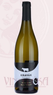 """Sauvignon """"Šaldorfský Kravák"""", pozdní sběr  2017, Vinařství Špalek"""