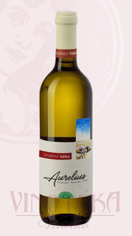 Aurelius BIO, pozdní sběr, Vinařství Válka