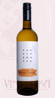 Květuška/Zlatuška cuvée, zemské, Vinařství Skrášek