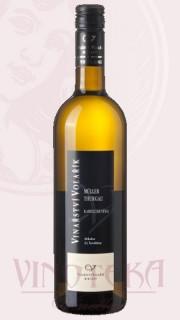 """Muller Thurgau, """"Za Turoldem"""", pozdní sběr, 2018, Vinařství Volařík"""