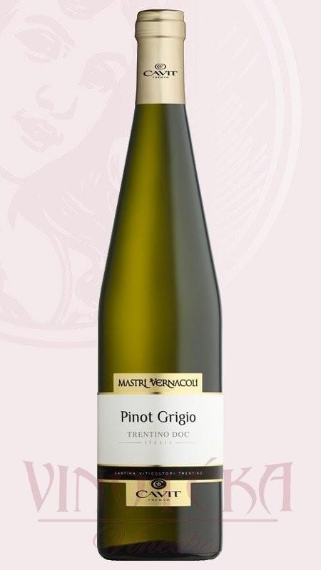 Pinot Grigio, DOC, Mastri Vernacoli, Cavit