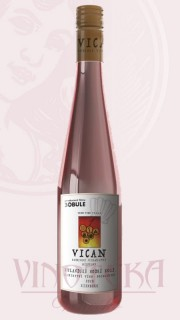 Rulandské modré rosé, kabinet, Vinařství Vican
