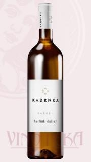 Ryzlink vlašský - Barrel, pozdní sběr, Vinařství Kadrnka